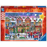 Ravensburger - Christmas in the Square Puzzle 1000pc