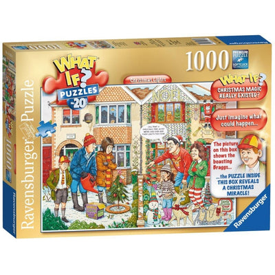 Ravensburger - WHAT IF? No 20 Christmas Lights 1000pc Puzzle - Grace Baby