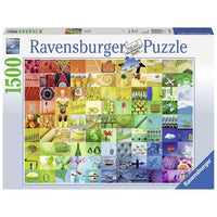 Ravensburger - 99 Beautiful Colours 1500pc Jigsaw Puzzle