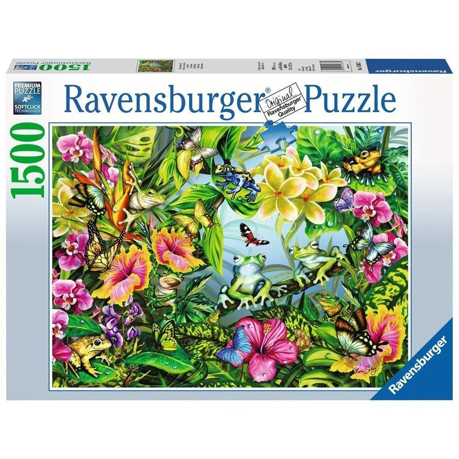 Ravensburger - Find the Frogs Puzzle 1500pc - Grace Baby