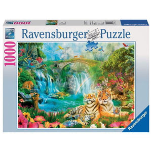 Ravensburger - Tiger's Repose Puzzle 1000pc