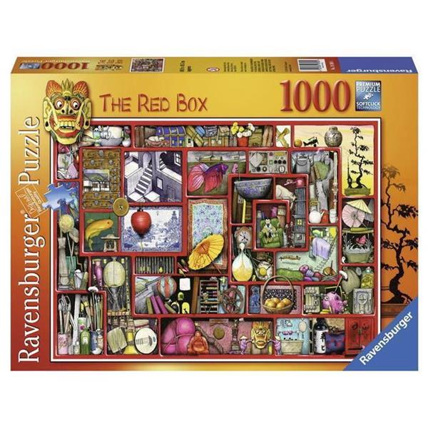 Ravensburger - Colin Thompson The Red Box 1000pc - Grace Baby