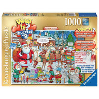 Ravensburger - WHAT IF? - No 9 Santa & Rudolph 1000pc Jigsaw Puzzle - Grace Baby