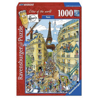 Ravensburger - Paris by Fleroux Puzzle 1000pc - Grace Baby