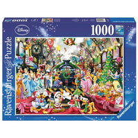 Ravensburger - All Aboard for Christmas 1000pc Disney Jigsaw Puzzle - Grace Baby