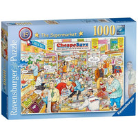 Ravensburger - British Supermarket 1000pc Puzzle - Grace Baby