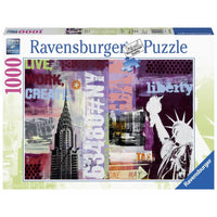 Ravensburger - New York Life Puzzle 1000pc - Grace Baby