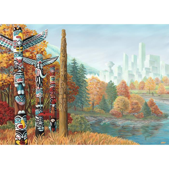 Ravensburger - When Two Worlds Collide Puzzle 1000pc