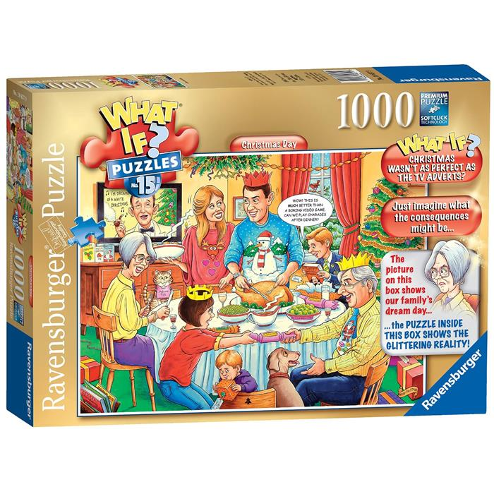 Ravensburger - WHAT IF? No 15 Christmas Day 1000pc Jigsaw Puzzle