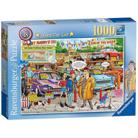 Ravensburger - Used Car Lot Puzzle 1000pc - Grace Baby