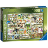 Ravensburger - Country Life 1900s Puzzle 1000pc - Grace Baby