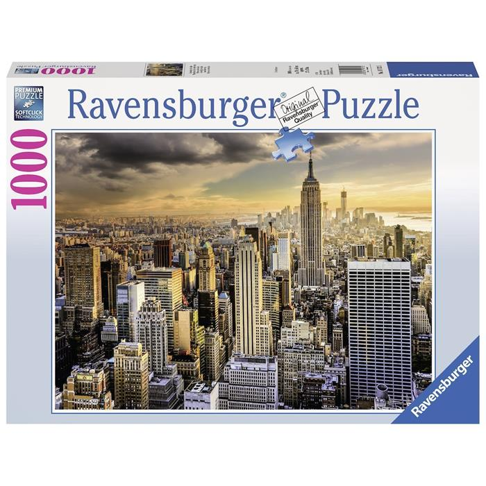 Ravensburger - Grand New York Puzzle 1000pc - Grace Baby