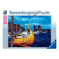 Ravensburger - Magnificent Oslo Puzzle 1000pc - Grace Baby