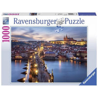 Ravensburger - Prague At Night Puzzle 1000pc - Grace Baby