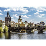 Ravensburger - Charles Bridge Prague Puzzle 1000pc - Grace Baby