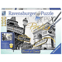Ravensburger - Touch of Gold - Golden Paris Puzzle 1200pc - Grace Baby