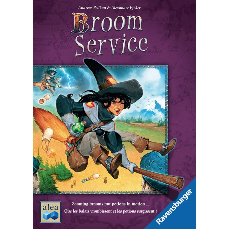 Ravensburger - Broom Service Game - Grace Baby