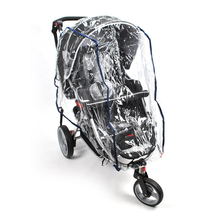 Rain Storm Dust Cover - 3 Wheel Pram - Grace Baby