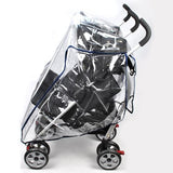 Rain Storm Cover - Side-By-Side Double Pram