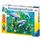 Ravensburger - Dolphin Trio Puzzle 100pc - Grace Baby