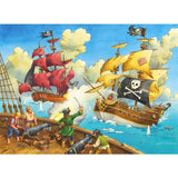 Ravensburger - Pirate Battle Jigsaw Puzzle 100pc - Grace Baby
