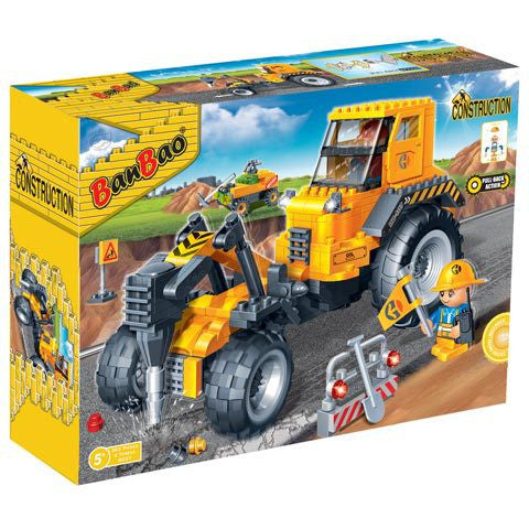 BanBao Construction - Road Construction Machine 8537 - Grace Baby