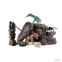 Schleich - Dino Set with Cave 41461 - Grace Baby