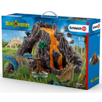 Schleich - Giant Volcano with T-Rex 42305 - Grace Baby