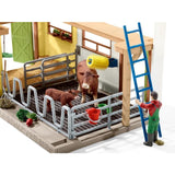 Schleich - Barn with Accessories 42334 - Grace Baby