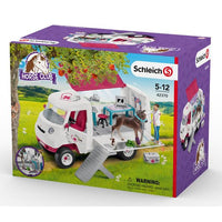 Schleich - Mobile Vet with Hanoverian Foal 42370 - Grace Baby