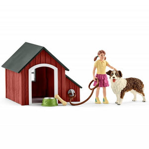 Schleich - Dog Kennel