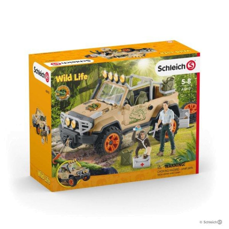 Schleich - 4x4 Vehicle with Winch 42410 - Grace Baby
