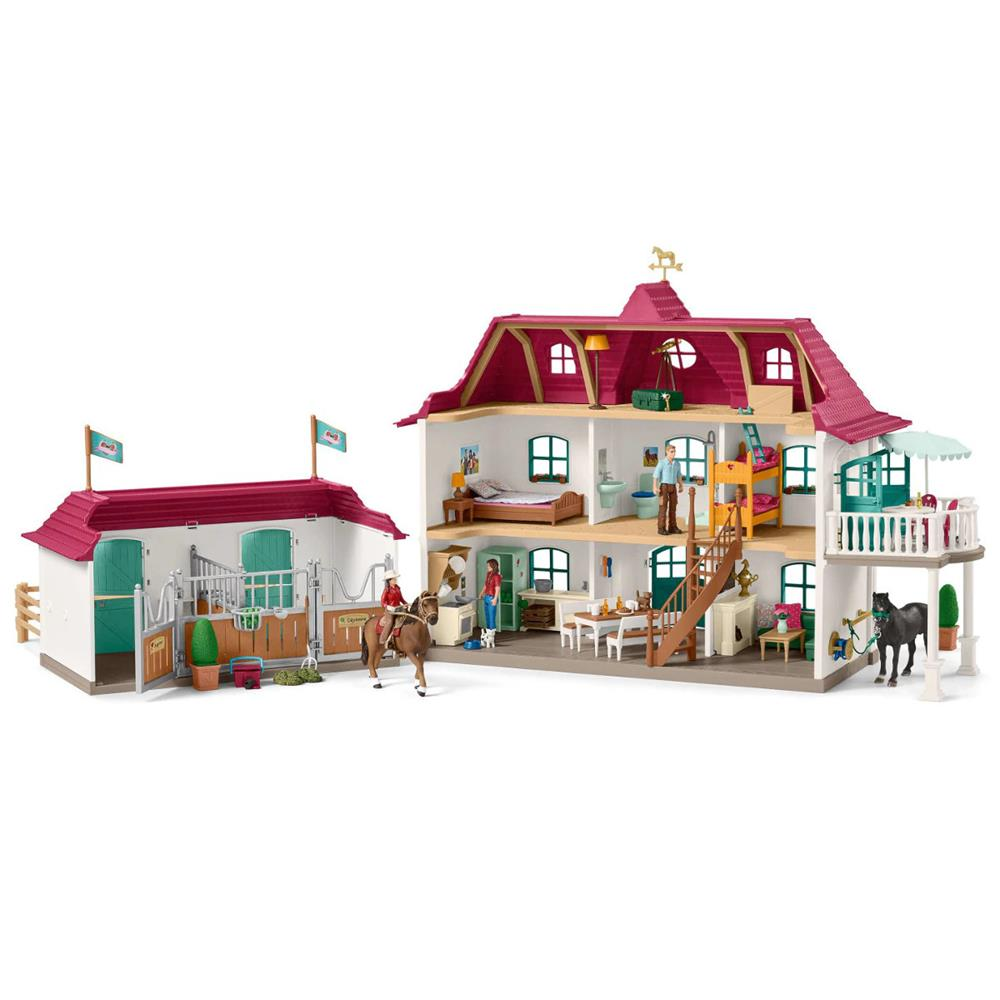 Schleich - Large Horse Stable Playset 42416 - Grace Baby