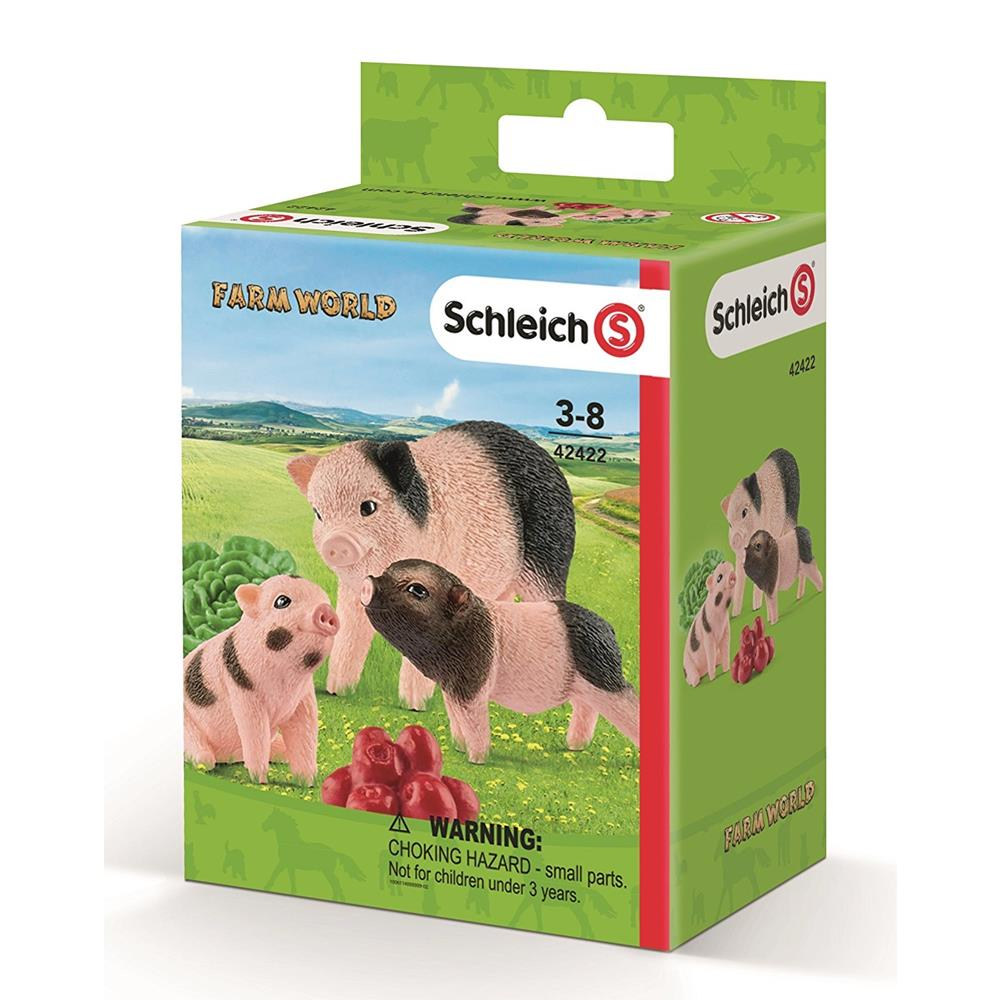 Schleich - Miniature Pig Mother & Piglets 42422 - Grace Baby