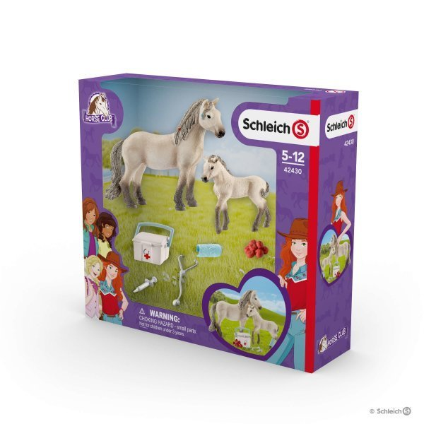 Schleich - Hannah's First-Aid Kit 42430 - Grace Baby