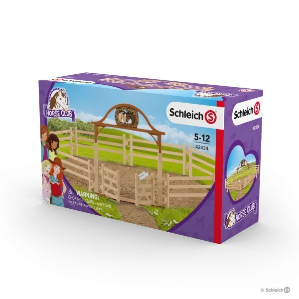 Schleich - Paddock with Entry Gate 42434 - Grace Baby