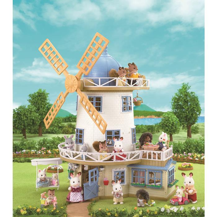 Sylvanian Families - Field View Mill 2711