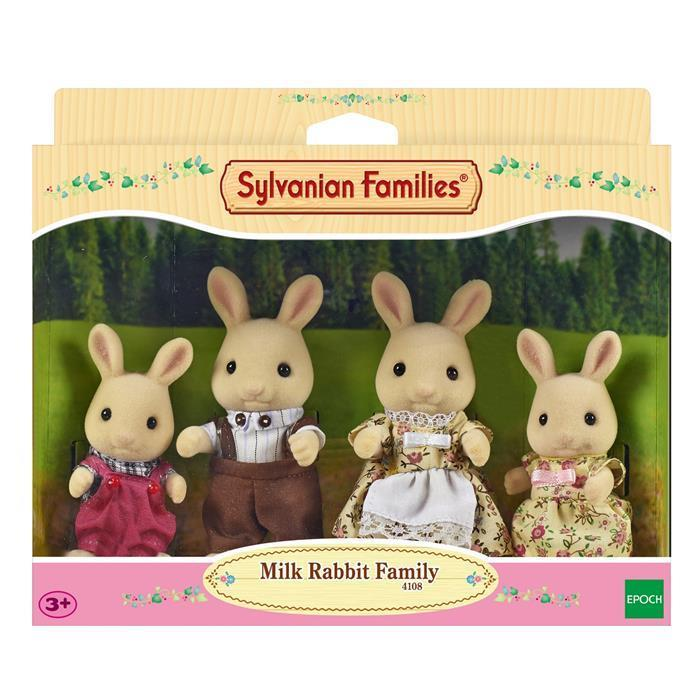 Sylvanian Families - Milk Rabbit Family 4108 - Grace Baby