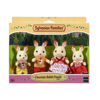 Sylvanian Families - Chocolate Rabbit Family - Grace Baby