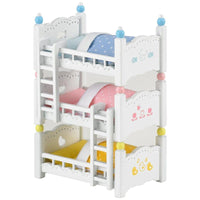 Sylvanian Families - Triple Bunk Beds - Grace Baby