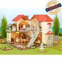 Sylvanian Families Beechwood Hall Value Bundle Package - Grace Baby