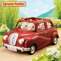Sylvanian Families - Family Saloon Car (Red) 4611 - Grace Baby