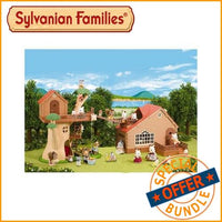 Sylvanian Families - Tree House & Log Cabin Mega Bundle Package - Grace Baby