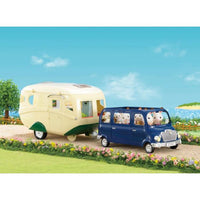 Sylvanian Families Bus and Caravan Bundle Package - Grace Baby