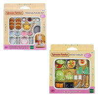 Sylvanian Families Kitchen Cooking and Pancake Sets Bundle Package - Grace Baby