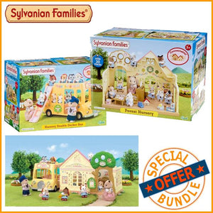 Package Deal - Sylvanian Families Forest Nursery Value Bundle