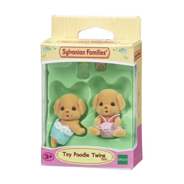 Sylvanian Families - Toy Poodle Twins - Grace Baby