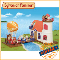 Sylvanian Families Starry Point Lighthouse and Sky Ride Adventure Bundle Package - Grace Baby
