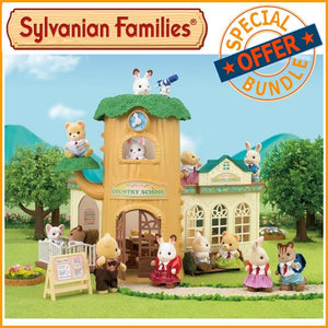 Package Deal - Sylvanian Families Country School Value Bundle