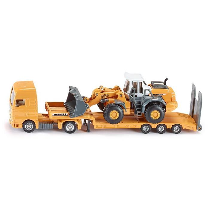 Siku - Low Loader with 4 Wheel Loader - 1:87 Scale